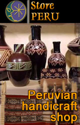 Peruvian handicraft shop